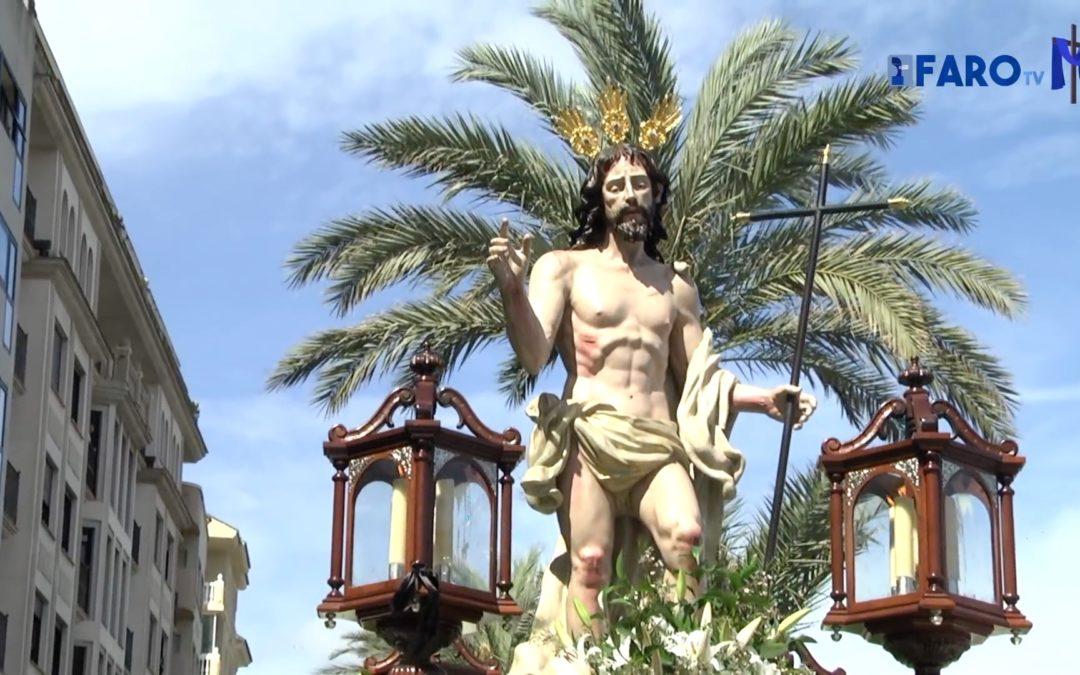 El 'Resucitado' pone fin a una Semana Santa en Ceuta sin procesiones pero con la misma devoción
