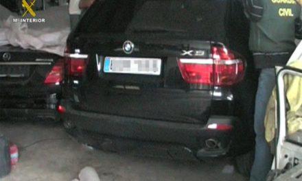 Desarticulada una red que enviaba coches a Marruecos por las ciudades autónomas