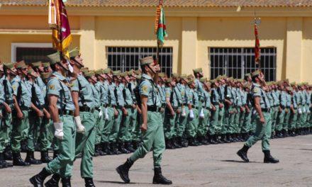 7.700 euros para apadrinar la entrega de una bandera a la Legión