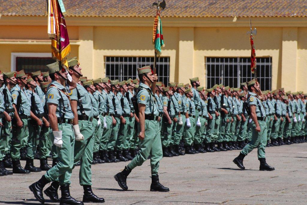 El Tercio 'Duque de Alba' organiza diversos actos por el 97 aniversario de la fundación de la Legión