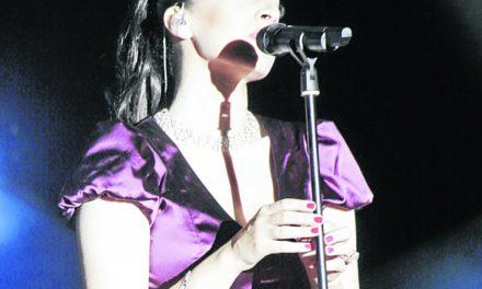 Mónica Naranjo arrasó anoche en el complejo de las Murallas Reales