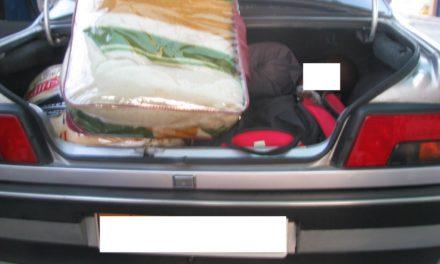 Un administrativo de un consulado africano intenta colar a dos ilegales