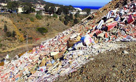 Multas de 900 euros por arrojar residuos en zonas no autorizadas