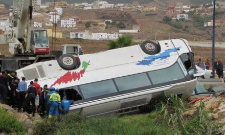 Autoridades marroquíes reducen a 9 las víctimas mortales en accidente autobús