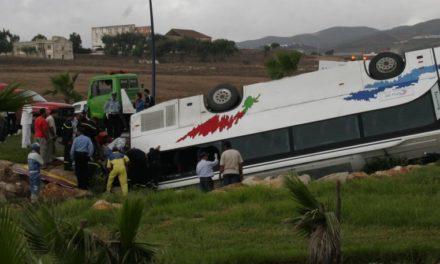 El Fiscal ordena el ingreso en prisión del conductor del autobús siniestrado