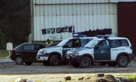 La Guardia Civil sorprende a un joven en un control con una pistola