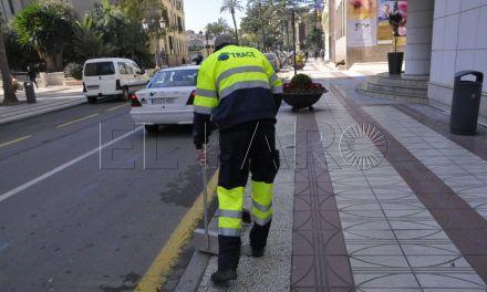 Caballas denuncia ante la Inspección de Trabajo el uso del Plan de Empleo para barrer las calles de la ciudad