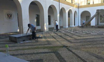 La Ciudad acomete mejoras en el Campus y adjudica la reparación de las claraboyas de la residencia universitaria