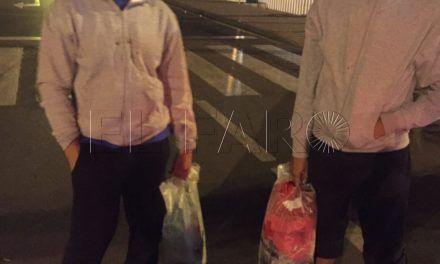Dos argelinos, rescatados tras ocultarse debajo de un ferry