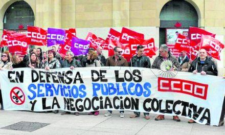 CCOO exige al Gobierno que retome las negociaciones con los funcionarios