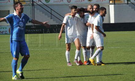 La AD Ceuta FC consigue por fin su primera victoria en el campeonato