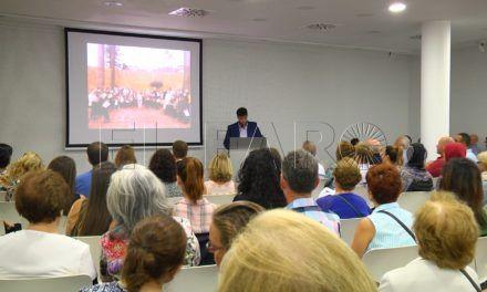 José Olmedo presenta su proyecto 'Música para despertar' en la Biblioteca