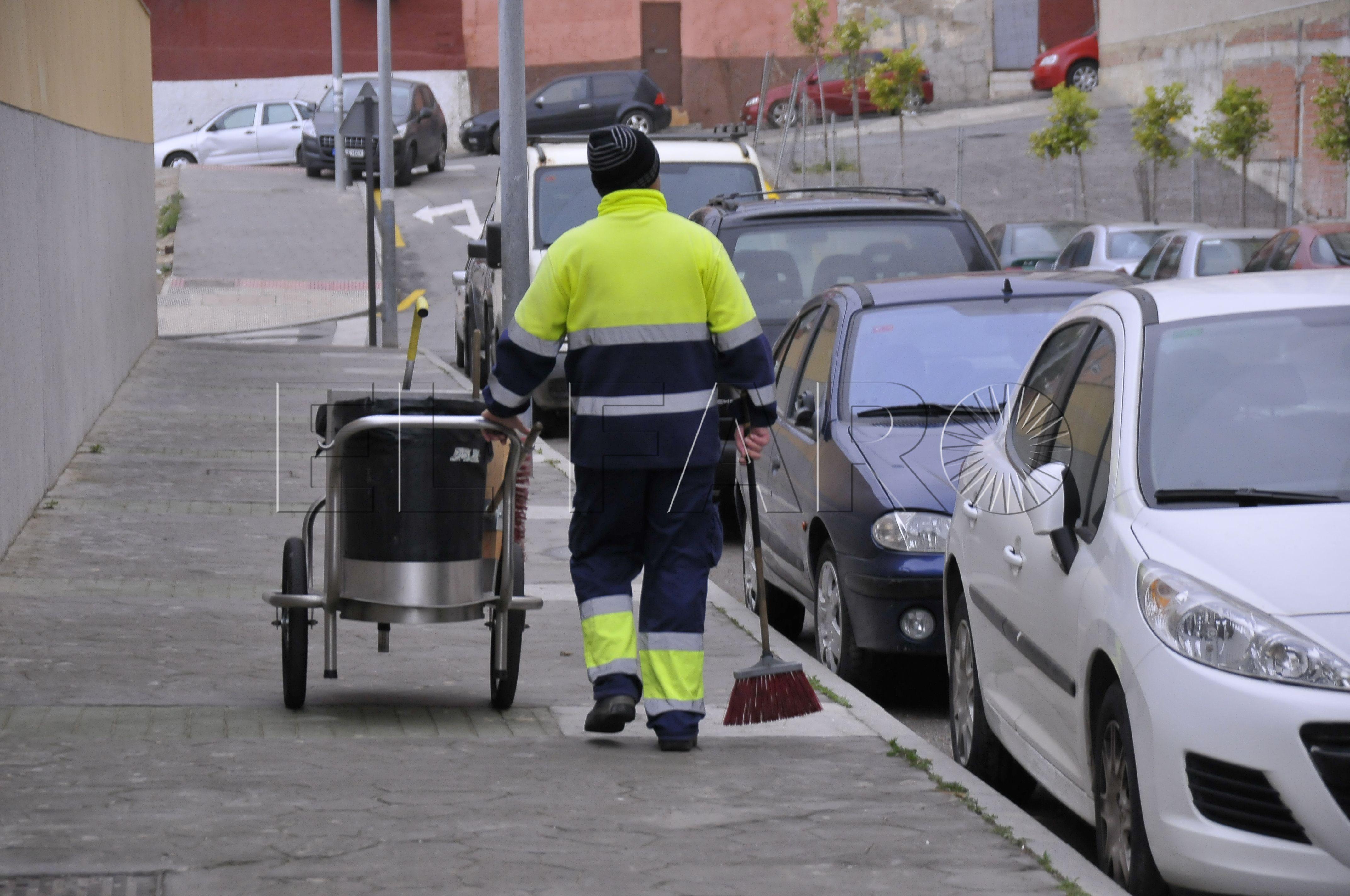 Los trabajadores del Plan de Empleo dejarán la limpieza viaria
