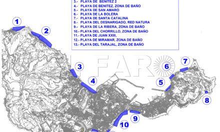 La Ciudad actuará en todas las playas de la ciudad para mejorar su estado
