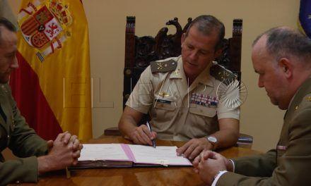 El comandante Javier Alfonso Gabeiras asume el mando del Batallón de Cuartel General de Ceuta