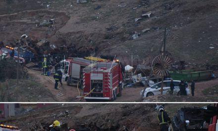 Incendio en un sótano de Loma Colmenar en el que vivían ilegalmente