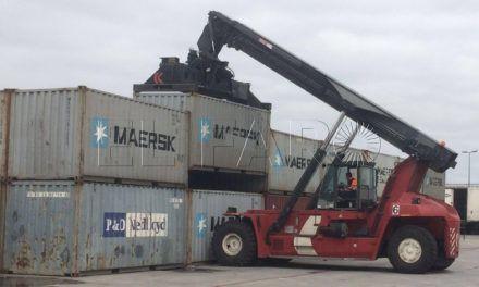 El depósito de Marítima y Maersk trae mayor actividad económica a Ceuta