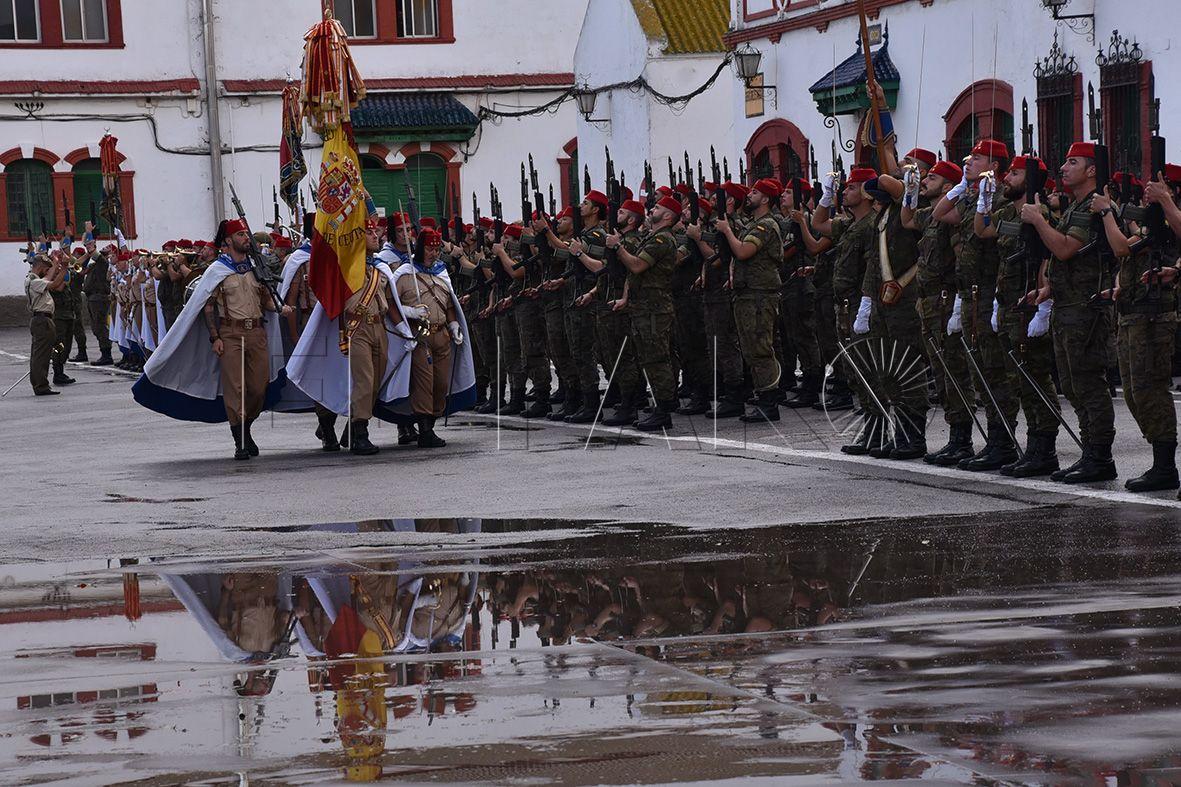 'González Tablas' acoge hoy el acto de despedida al contingente de Regulares