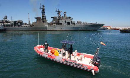 Ceuta esperaba para este sábado a dos fragatas antisubmarino