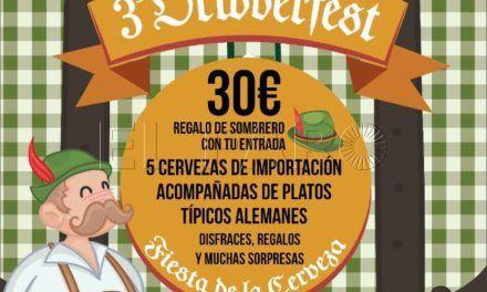 'Beber de cine' organiza su III edición del Oktoberfest