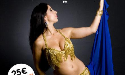 Raskshanda ofrecerá un taller sobre la danza del vientre en el Casino de Ceuta