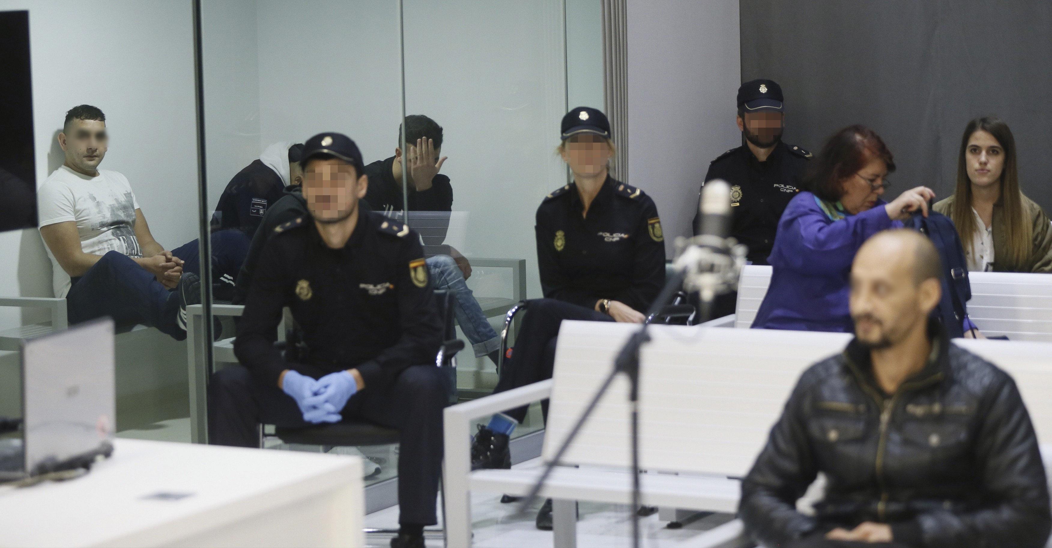 """Presunto líder terrorista en el juicio: """"Estoy aquí por José Coronado"""""""