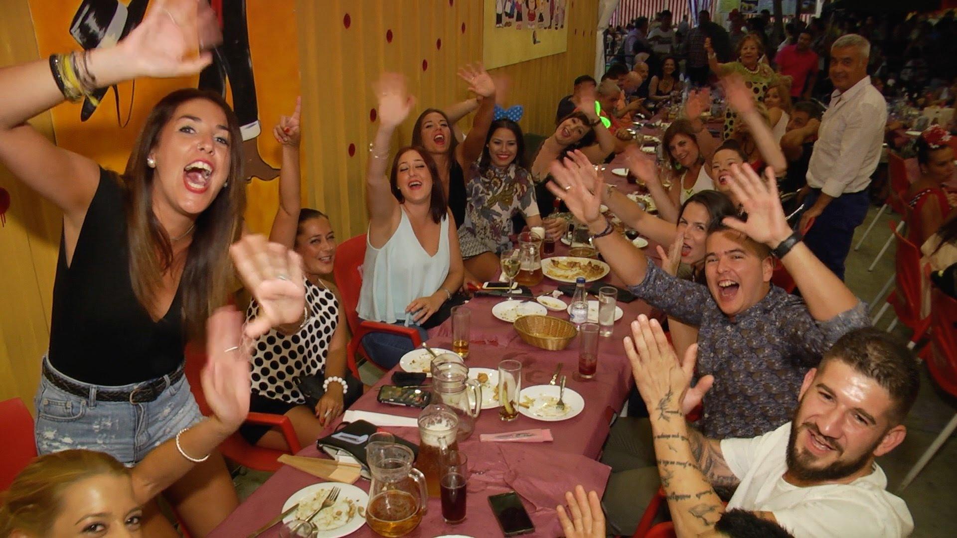 Sociedad Caballa en la Feria de Ceuta 04/08/2016
