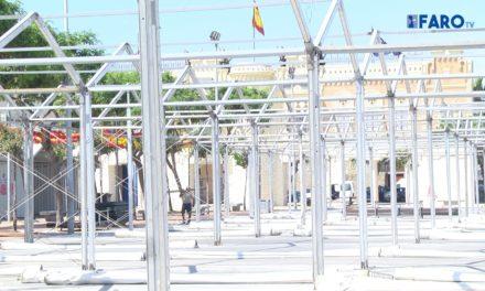 Finalizan los trabajos de limpieza y recogida en la Feria