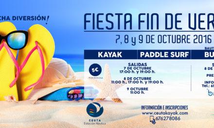 La Estación Náutica organiza la 'Fiesta fin de verano' para este fin de semana