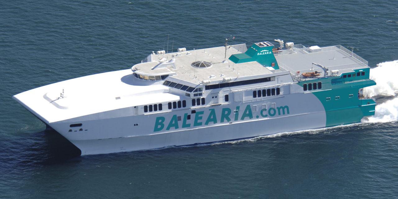 El fast ferry 'Avemar Dos' se reincorpora mañana a la línea Ceuta-Algeciras