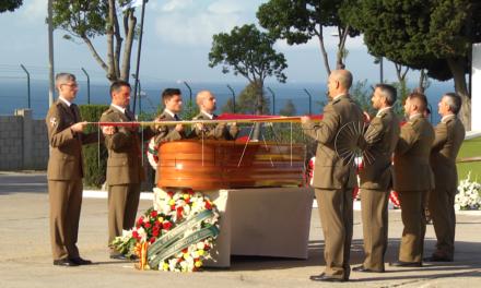 Despedida al capitán de Caballería Sergio Barreda Peñas