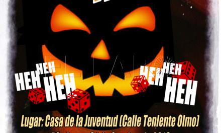 Noche de juegos de mesa de terror por Halloween