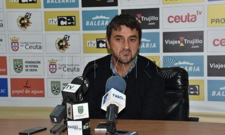 """Masegosa dice que el Ceuta FC """"no es favorito para el play-off"""""""