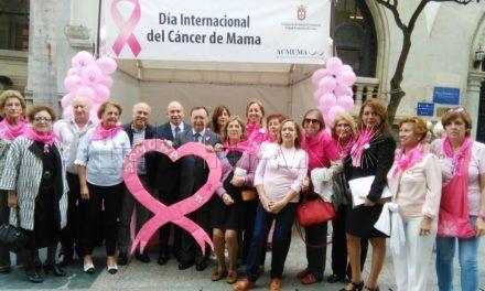 Ceuta se vuelca en el Día Mundial Contra el Cáncer de Mama