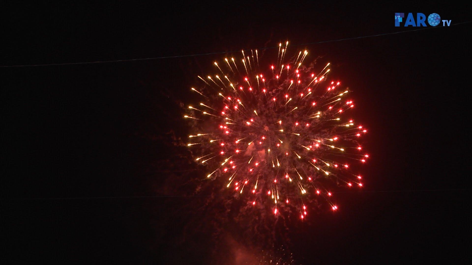 El gran espectáculo de fuegos artificiales cierra la Feria