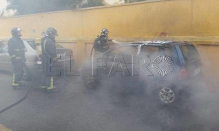 Detenidos los tres presuntos autores del incendio de un coche detrás del 'Murube'