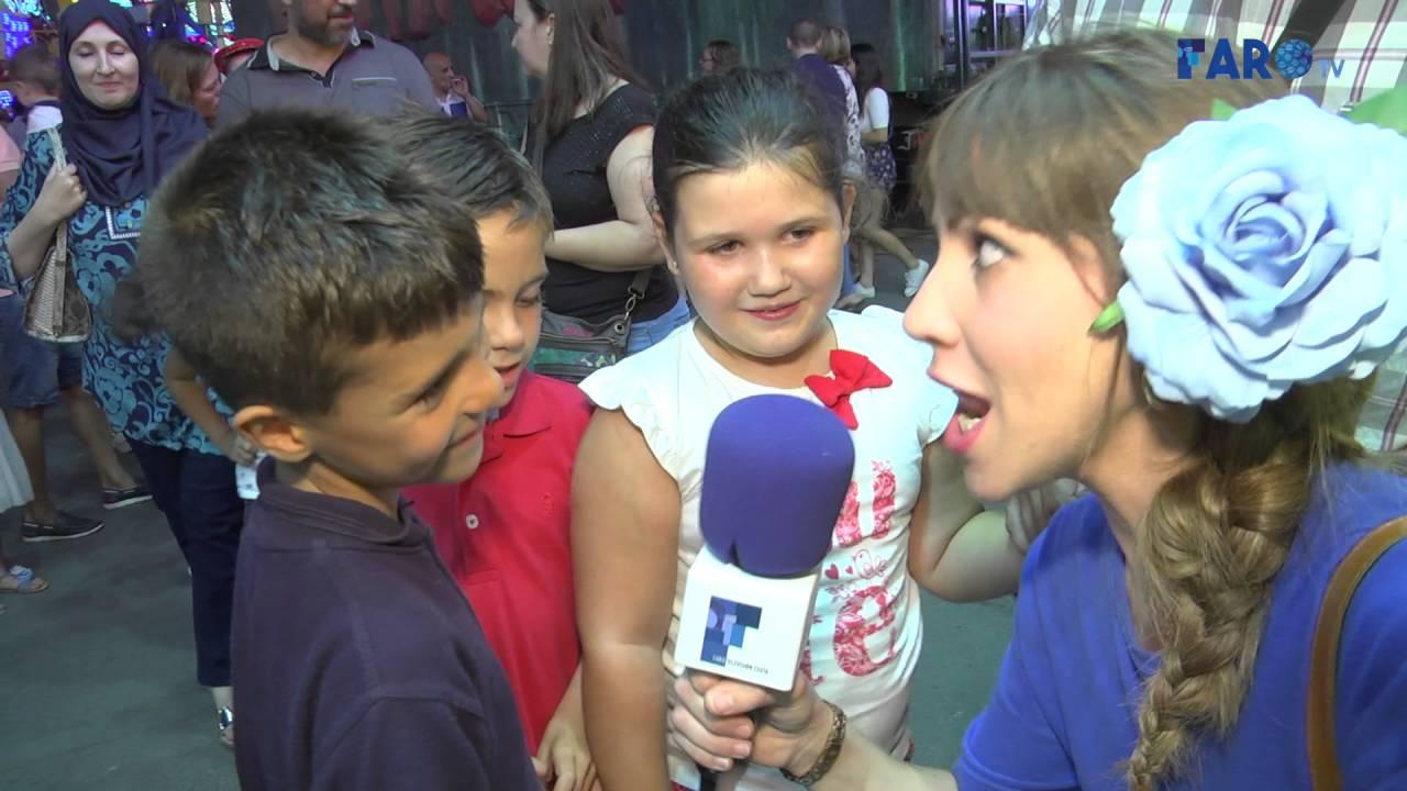 Los niños vuelven a ser los protagonistas de la Feria
