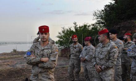 Primeras imágenes del relevo en Mali, con la llegada del contingente de Ceuta