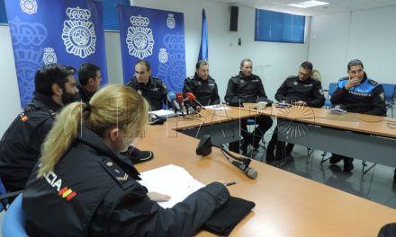 Arranca hoy el dispositivo especial de Navidad de la Policía Nacional y Local