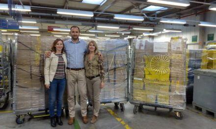 Correos Ceuta reúne 50 kilos de comida para el Banco de Alimentos