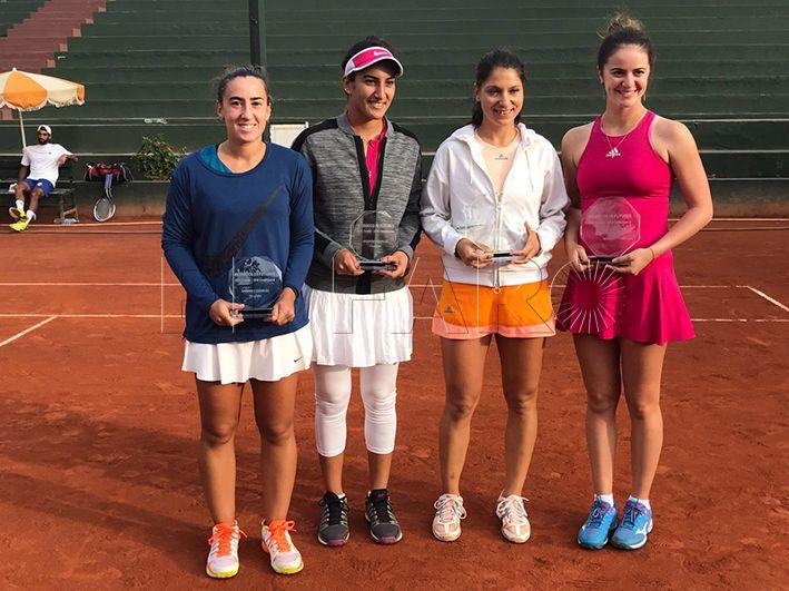 Olga Parres y Fatam Nabhani caen en la final de dobles en Casablanca