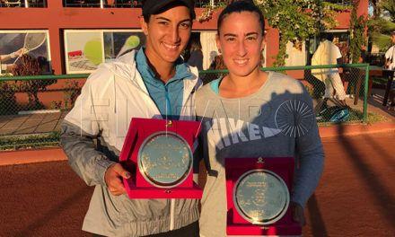 Olga Parres y Fatma Nabhani repiten subcampeonato en Rabat