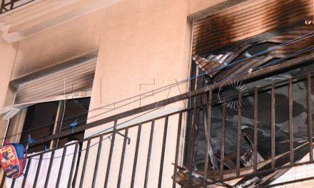 La Policía investiga las causas del incendio en una vivienda de Villajovita