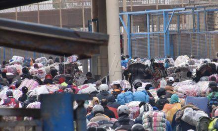 """UFP denuncia la situación de """"caos"""" existente en la frontera del Tarajal"""