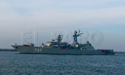 El PSOE registra en el Congreso diversas preguntas acerca de la escala de buques de guerra de la armada rusa