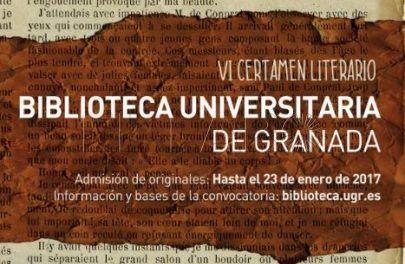 VI Certamen Literario de la Universidad de Granada