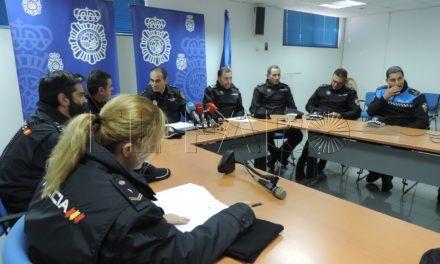 La Policía Nacional y Local de Ceuta coordinan el Plan Comercio Seguro de esta Navidad