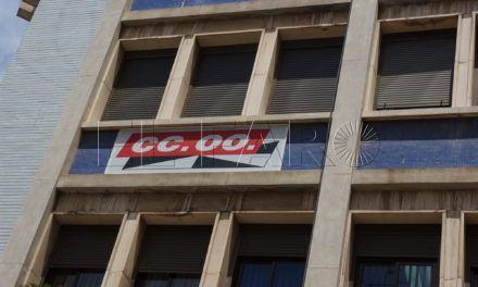 CCOO denuncia la adscripción a Servicios Tributarios del ex jefe del Gabinete de Delegación