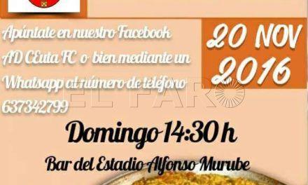 El Ceuta FC organiza una paella de cara al derbi