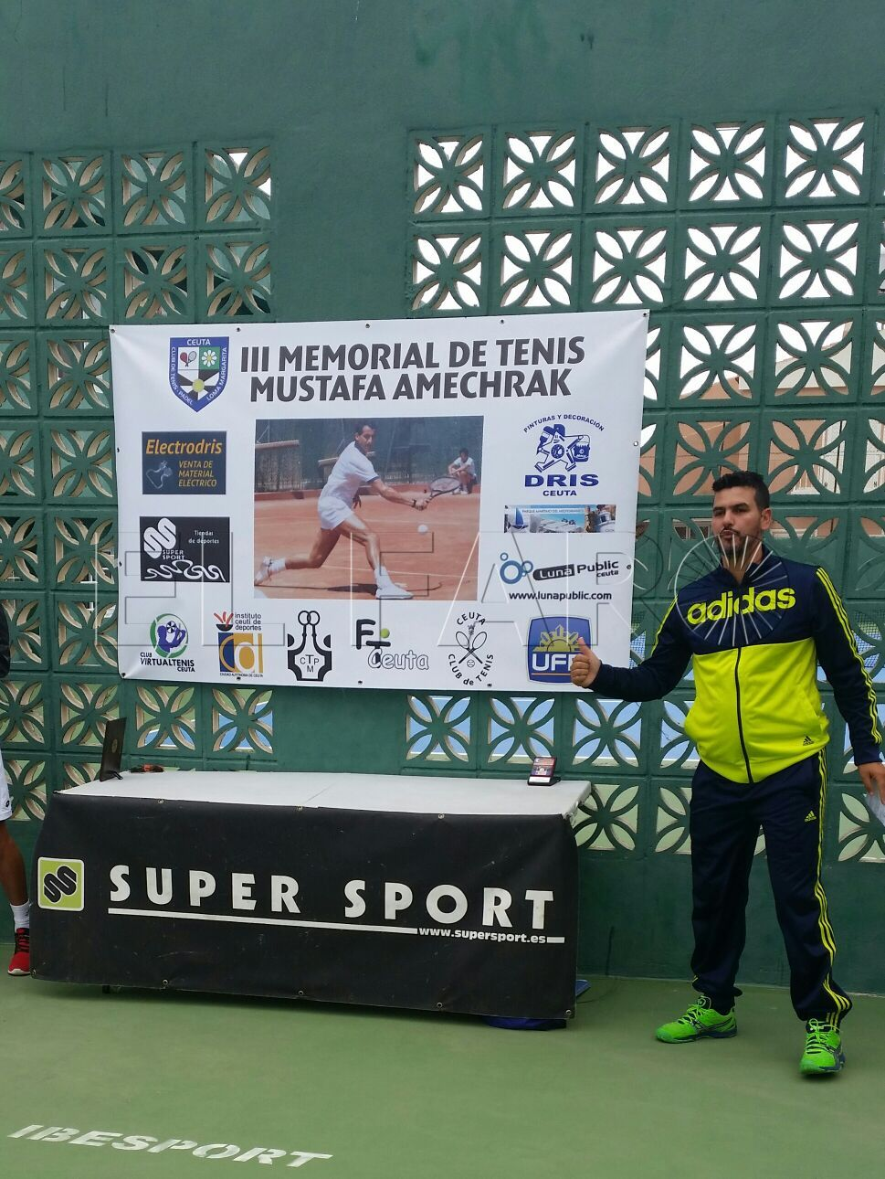 Yassin Mohamed, el nuevo presidente de la Federación de Tenis